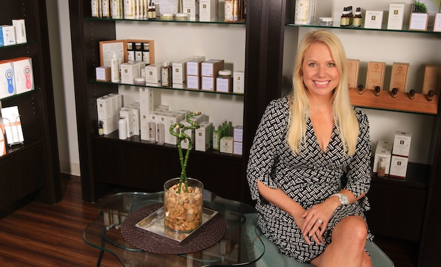 Facelogic Spa owner Christy Celli Freddo: Photo by James Coreas