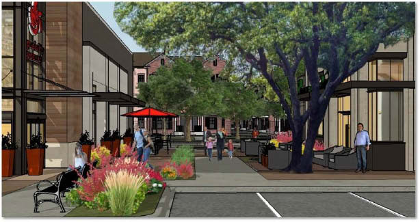 Forest-Inwood  development rendering: Courtesy of Dodd Communications