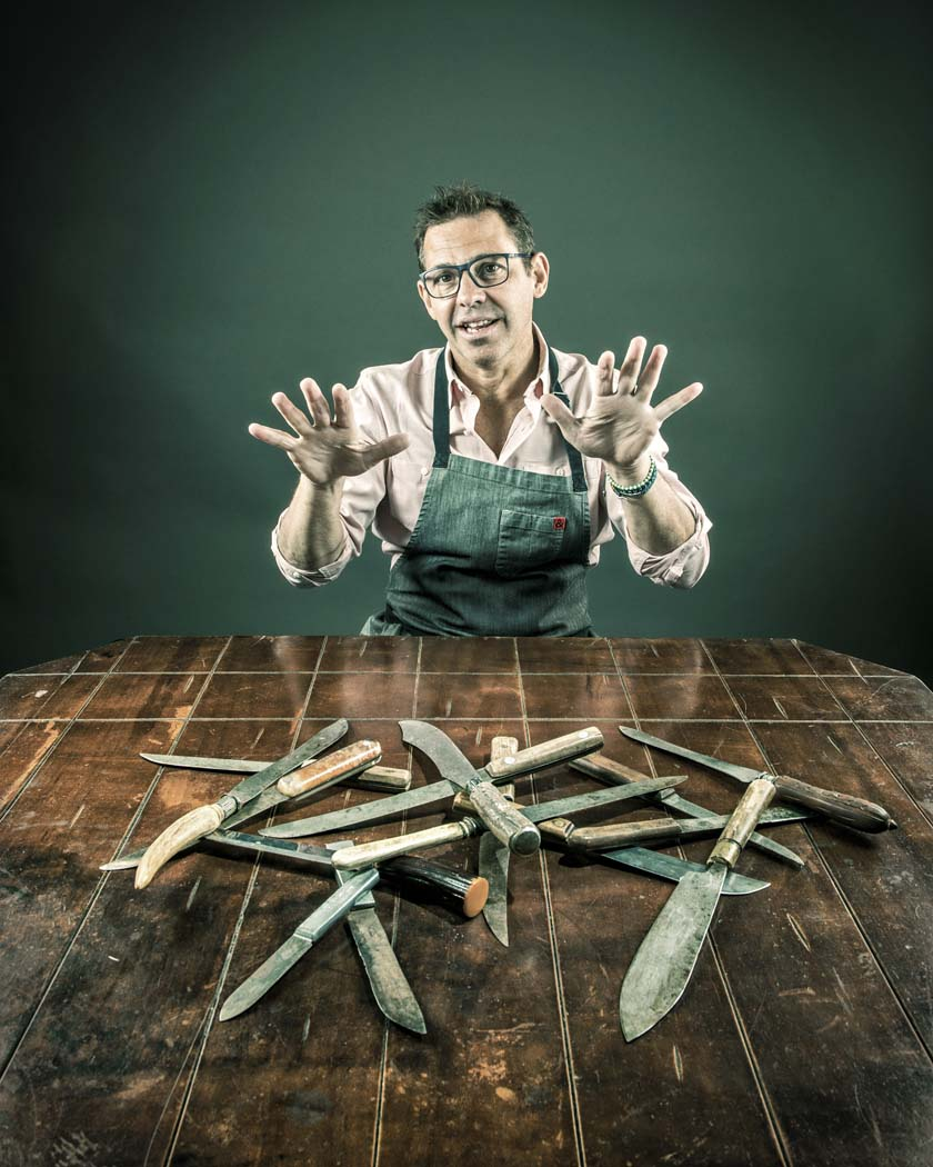 """Celebrity chef John Tesar describes his fare as """"stylish, modern American cuisine prepared with classic European techniques."""" His work has received nods from The New York Times and Esquire and he has been featured on multiple television shows including """"Top Chef."""" Photo by Danny Fulgencio"""