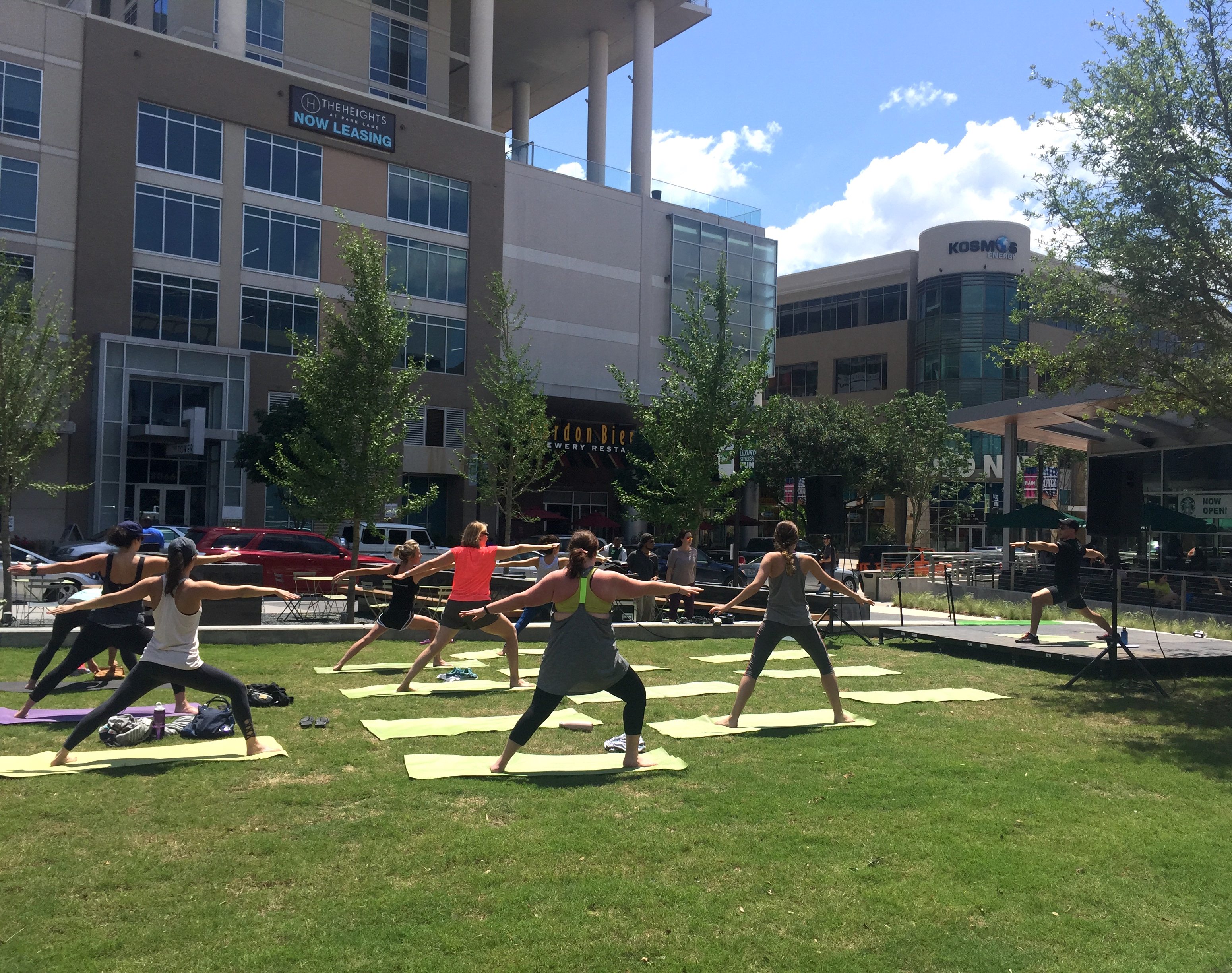 Fitness Fridays bring free classes from Studio 6 to The Shops at Park Lane.