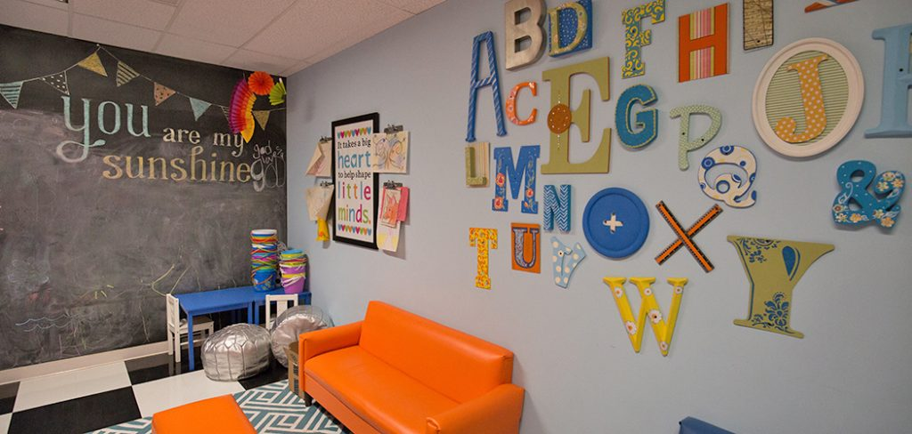Children's playroom at New Friends New Life. (Photo by Rasy Ran)