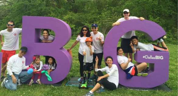 Team Tang-O-Tinez, featuring the Tang family, was the top fundraiser bringing in $35,000 at March of Dimes in Dallas.