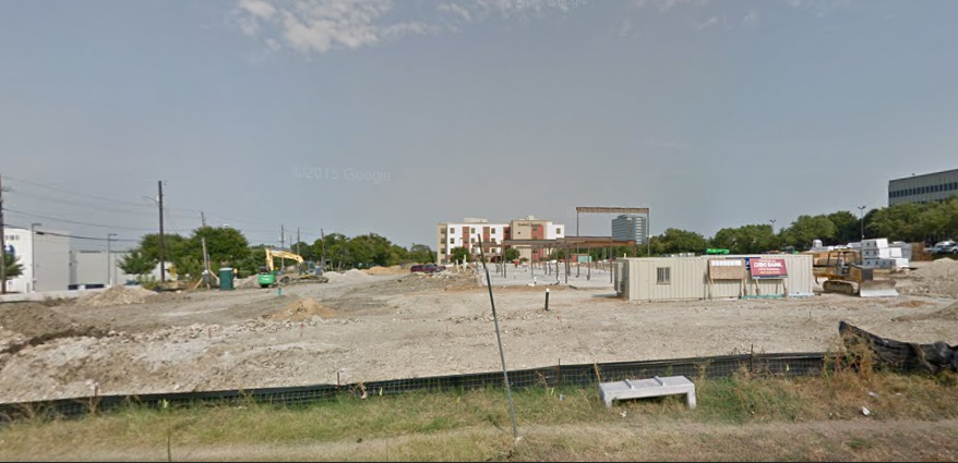 The vacant lot at 10370 N. Central Expressway may soon be a hotel. (Photo from Google maps)