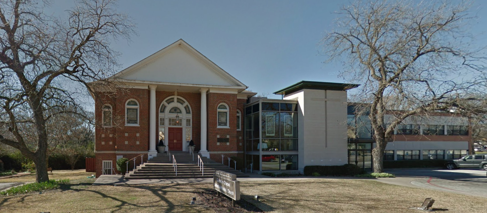 Cochran Chaple United Methodist Church will not be affected if the city approves its request to add 15 single-lot homes to its Midway Road property. (Photo from Google Maps)